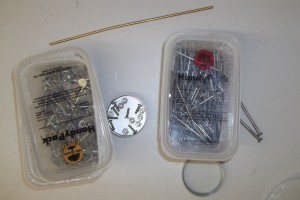 Nails and bolts for riveting